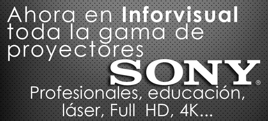 Proyectores SONY